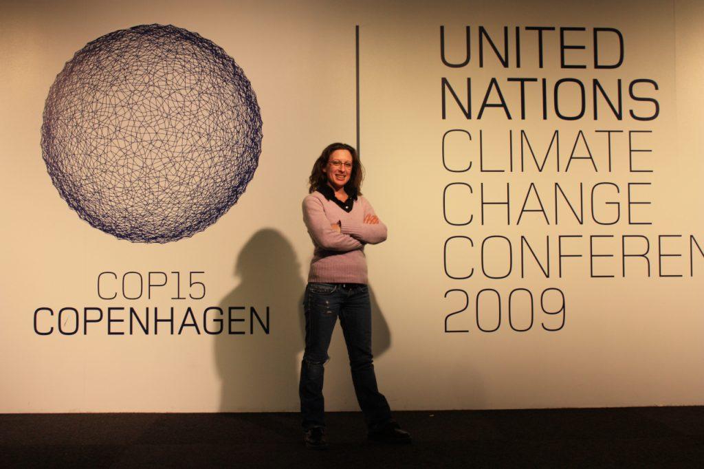 Feyza bei COP15